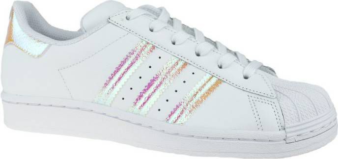 Adidas Originals Superstar Junior White/Iridescent Kind online kopen
