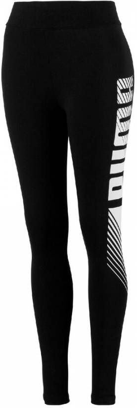 PUMA Essentials graphic sporttight zwart dames online kopen
