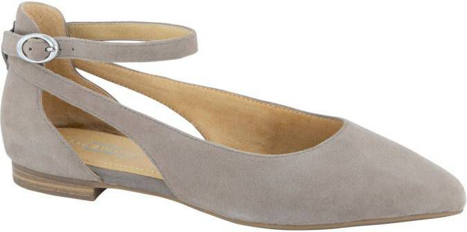 5th avenue Taupe suède ballarina cut out maat 40 online kopen