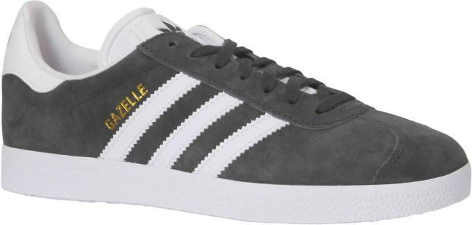 Adidas Originals Gazelle Heren Solid Grey/White Heren online kopen